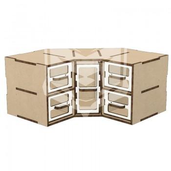 Rinconera modular 5 cajones...