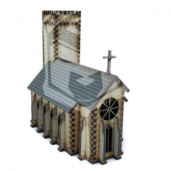Iglesia con torreon 1:100