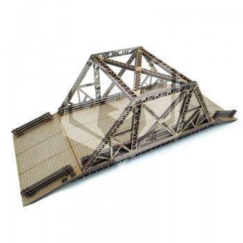 Puente acero estructura...