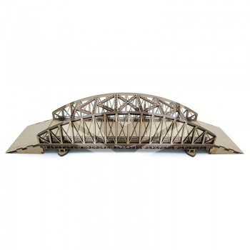 Puente con pilares 1:100