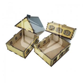 Casa de 3 plantas 15mm