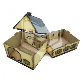 Casa con garaje 2 plantas 15mm