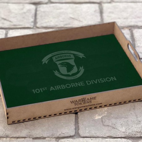 101 Airbone Division bandeja transporte miniaturas