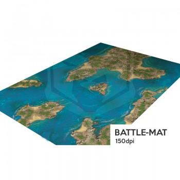 Islas del Caribe Tapete