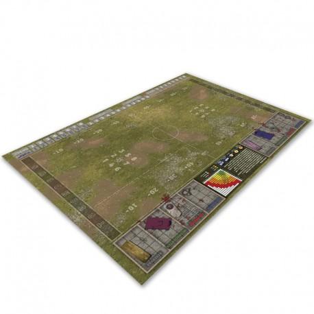 Campo de hierba compatible Blood Bowl